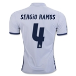 Real Madrid 16/17 SERGIO RAMOS Home Soccer Jersey