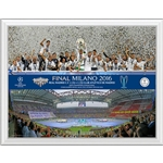UEFA Champions League 2016 Final Winner 18x14 Framed Photo