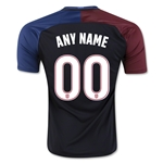 USA 2016 Customizable Away Soccer Jersey