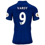Leicester City 16/17 VARDY Home Soccer Jersey