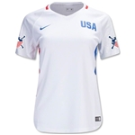USA 2016 American Outlaws Women's Home Soccer Jersey
