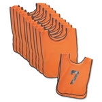 Deluxe Scrimmage Vests-15 Pack (Orange)