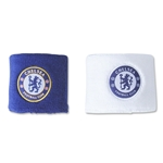 Chelsea FC crest Wristbands (Royal/White)
