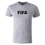FIFA Brand Men's Fashion Logo T-Shirt (Gray)