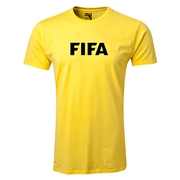 FIFA Brand Men's Fashion Logo T-Shirt (Yellow)