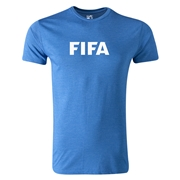 FIFA Brand Men's Fashion Logo T-Shirt (Heather Blue)
