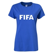FIFA Brand Women's Logo T-Shirt (Royal)