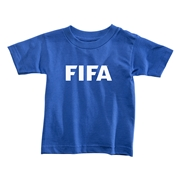 FIFA Brand Toddler Logo T-Shirt (Royal)