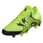 adidas X 15.1 FG/AG (Solar Yellow/Black)