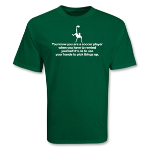 Use Your Hands Soccer T-Shirt