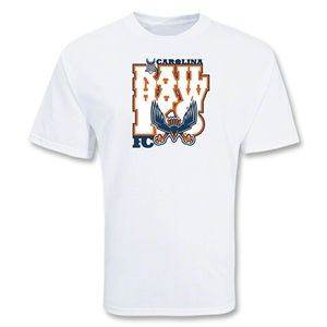 Carolina Railhawks Soccer T-Shirt (White)