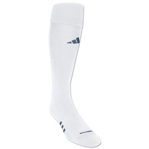 adidas NCAA Formo Elite Irreg Soccer Socks 3-Pack (Wh/Nv)