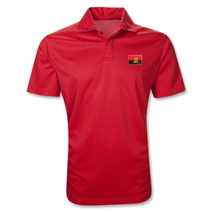 Angola Polo Shirt (Red)