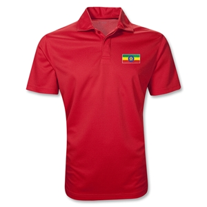 Ethiopia Polo Shirt (Red)