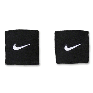 Nike Swoosh Wristbands (Black)