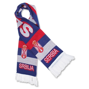 Serbia Team Fan Soccer Scarf