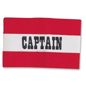 Classic Captain's Armbands (Red/White)