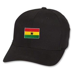 Ghana Flex Fit Cap (Black)
