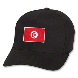 Tunisia Flex Fit Cap (Black)