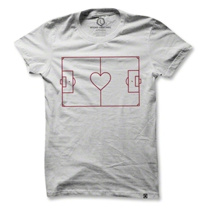 Heart Soccer Field T-Shirt