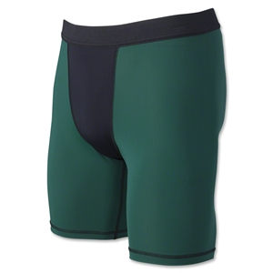 Two-Tone Compression Shorts (Dg/Bl)
