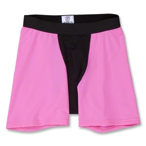 Two-Tone Compression Shorts (Neon Pink)