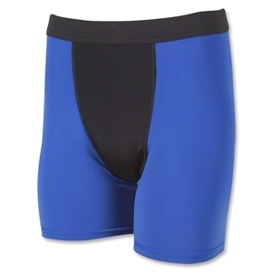Two-Tone Compression Shorts (Roy/Blk)