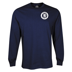 Chelsea Circle Logo LS T-Shirt (Navy)