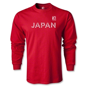 FIFA Confederations Cup 2013 Japan LS T-Shirt (Red)
