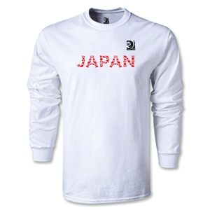 FIFA Confederations Cup 2013 Japan LS T-Shirt (White)
