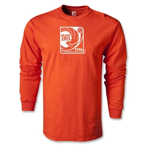 FIFA Confederations Cup 2013 LS Emblem T-Shirt (Orange)