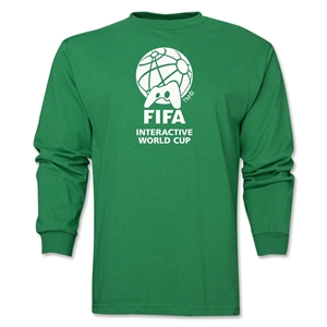 FIFA Interactive World Cup Core Emblem LS T-Shirt (Green)