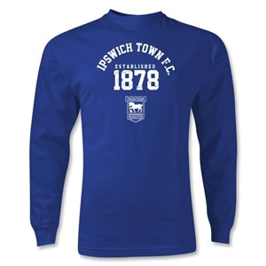 Ipswich Established LS T-Shirt (Royal)