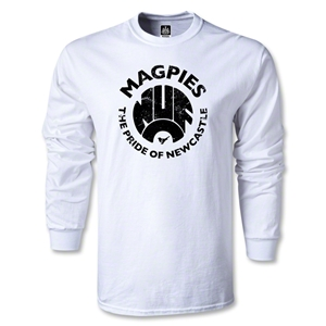 Newcastle United Magpie Pride LS T-Shirt (White)