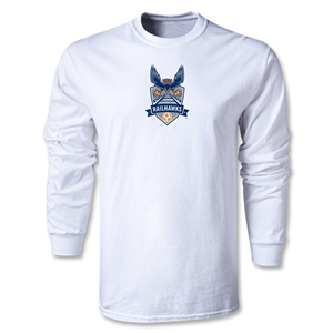 Carolina Railhawks LS T-Shirt (White)