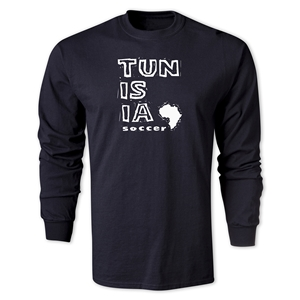 Tunisia LS Country T-Shirt (Black)