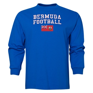 Bermuda LS Football T-Shirt (Royal)
