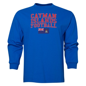 Cayman Islands LS Football T-Shirt (Royal)