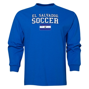 El Salvador LS Soccer T-Shirt (Royal)
