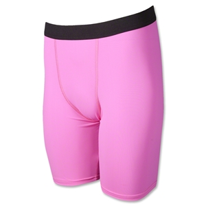 Men's Compression Shorts (Neon Pink)