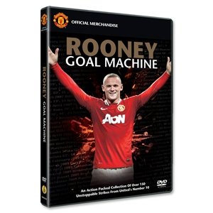 Wayne Rooney Goal Machine DVD