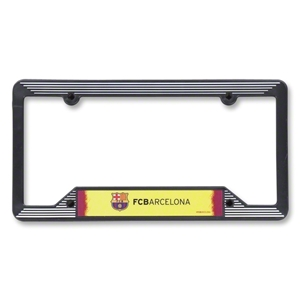 Barcelona Plastic License Plate Frame