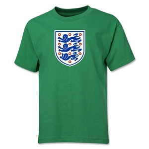 England Core Youth T-Shirt (Green)