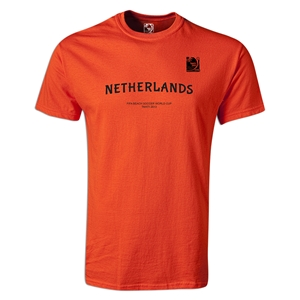 FIFA Beach World Cup 2013 Netherlands Youth T-Shirt (Orange)