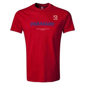 FIFA Beach World Cup 2013 Youth Paraguay T-Shirt (Red)