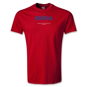 Russia FIFA Beach World Cup 2013 Youth T-Shirt (Red)