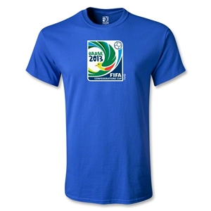 FIFA Confederations Cup 2013 Youth Emblem T-Shirt (Royal)