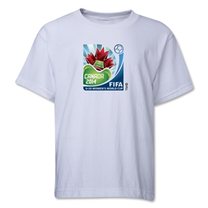 FIFA U-20 Women's World Cup Canada 2014 Youth Core T-Shirt (White)