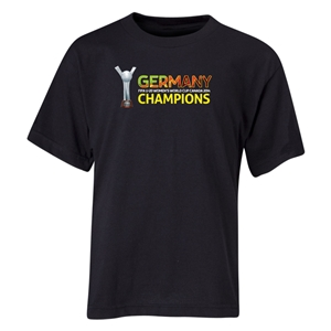 Germany FIFA U-20 Women's World Cup Canada 2014 Youth Champions T-Shirt (Black)