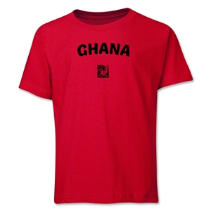 Ghana FIFA U-17 Women's World Cup Costa Rica 2014 Youth Core T-Shirt (Red)